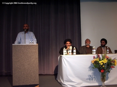 "David Salman, 1st from left: ""The practice of not eating meat for 40 days in order to become an Aref is totally false."""