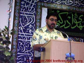 "Sam Bazzi: ""According to the 6th Imam, the roots of evil are three: Arrogance, envy and avarice."""