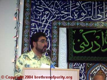 "Sam Bazzi: ""According to the 6th Imam, the people who have intense might are the people of Qum."""