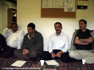 Second from right, Saeed Ghalambor.