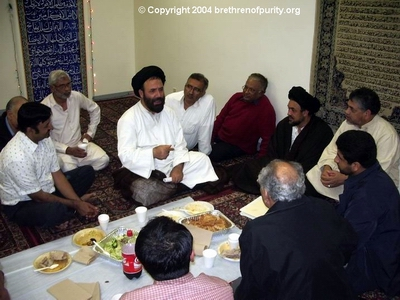 Bay Area Shiites with Syed Fazil Hussain Mosavi and Syed Mudassir Ali Shah Moosvi.