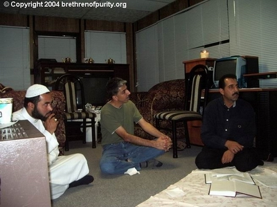 From left, Nabi Raza Mir (a.k.a. Nabi Raza Abidi), Saeed Razakhany, and Saeed Ghalambor.
