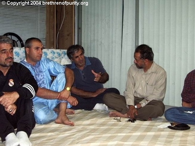 From left, Saeed Mohajer, Mohamad Antar, Hossein Falahati, and Muzaffar Khan.