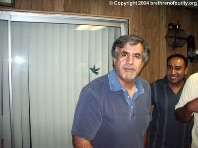 Hossein Falahati, left, and Ghulam Jaffer.