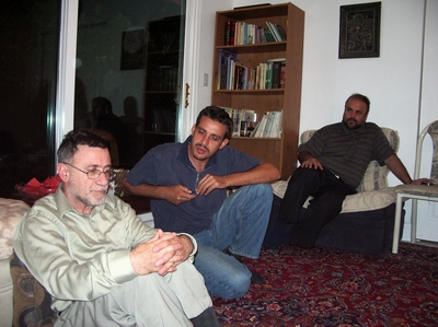 From left, Kays Hadi, Saleh Raad and Mohammad Rakhshandehroo.