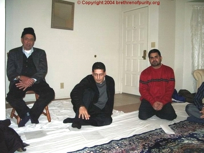 At the home of Ali Abbas in Fremont, California.