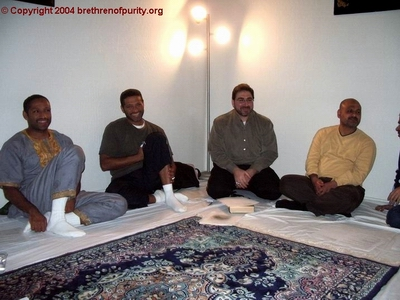 From left, Hassan Basma, Mohamed Basma, Sam Bazzi, and Mohammad Alofi