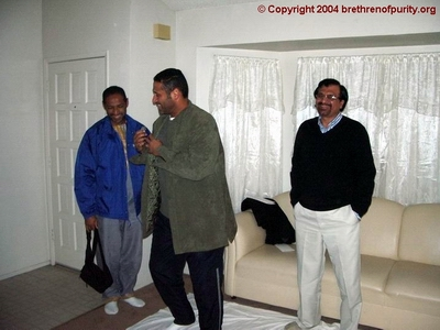 From left, Hassan Basma, Mohamed Basma, and Syed Yousef Akhtar
