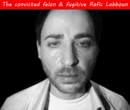Mexican mugshot of the convicted felon, fugitive, Hezbollah operative, and imam with Saba Islamic Centetr of San Jose, CA, Rafic Labboun (a.k.a. Rafic Mohammad Labboun Allaboun; a.k.a. Wilhelm Dyck)