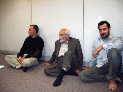 Inside Saba Islamic Center: From right, the young, the old, and the in-between!