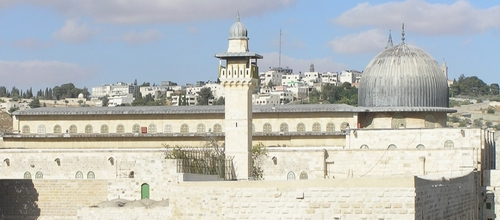 Al-Aqsa Mosque in al-Quds